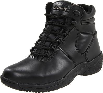 e4c882fd152572 Converse C4605 Men s Black Leather Composite Toe Athletic ...