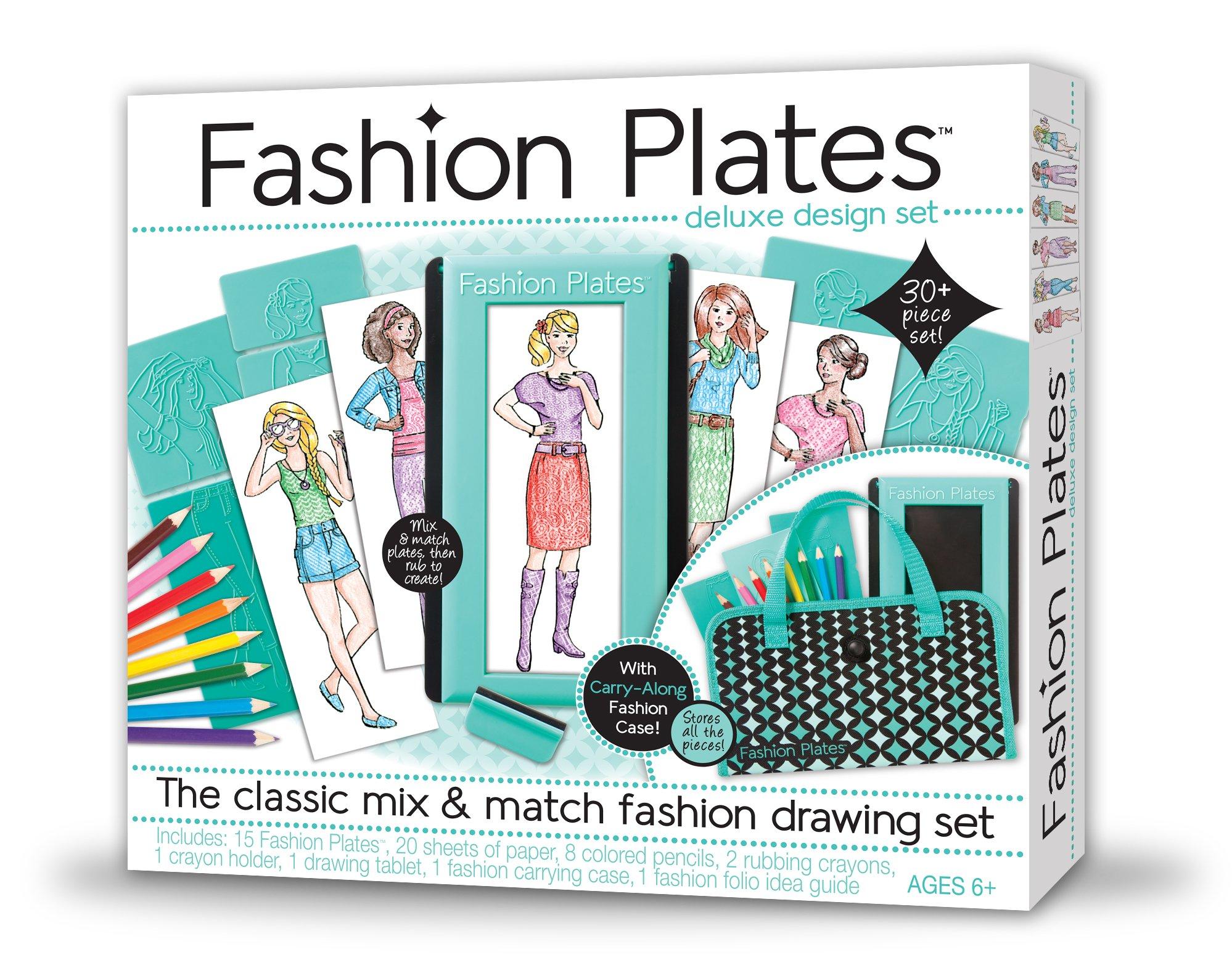 Kahootz Fashion Plates Deluxe Kit