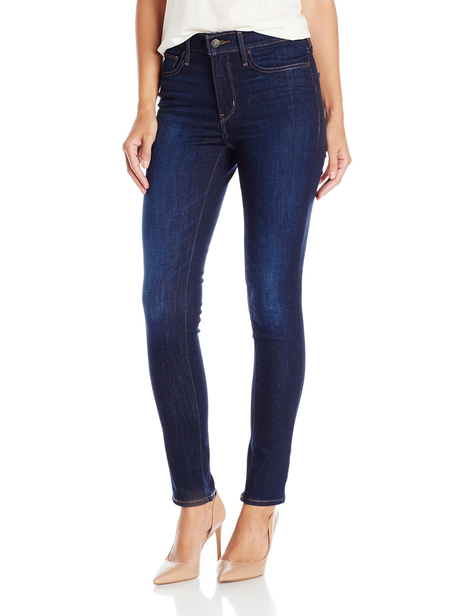 Levi's Women's Slimming Skinny Jean, Underwater Canyon (89% Cotton, 9% Polyester, 2% Elastane), 31Wx30L