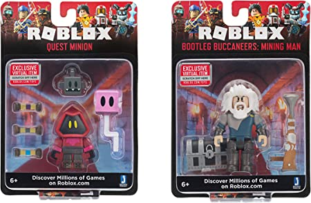 Amazon Com Roblox Action Collection Bootleg Buccaneers Mining