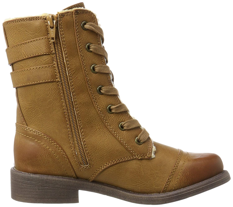 Roxy Damen Dominguez Stiefel Stiefel Dominguez Braun (Tan) 6a7020
