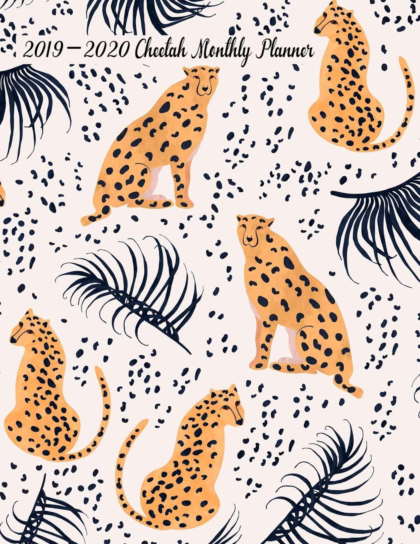Amazon.com: 2019-2020 Cheetah Monthly Planner: 24 Months ...