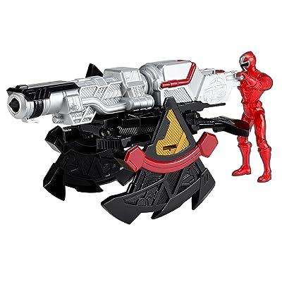 Power Rangers Ninja Steel DX Mega Morph Battle Station: Toys & Games