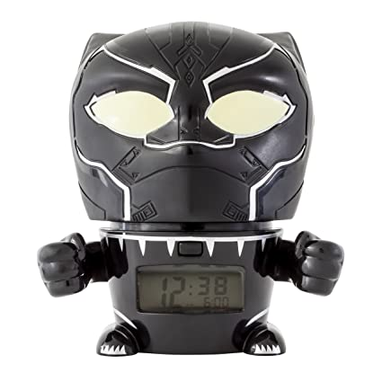 BulbBotz Despertador Infantil con Luz Nocturna de Black ...