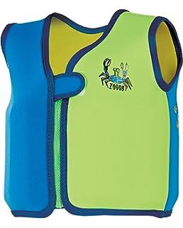 Zoggs Chaqueta de baño Bobin Deep Sea para niños de 4 a 5 años, Color