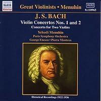Bach: Violin Concertos Nos 1 & 2 [Recorded 1932-1936]