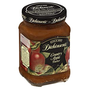 Dickinson's Country Apple Butter, 9 oz