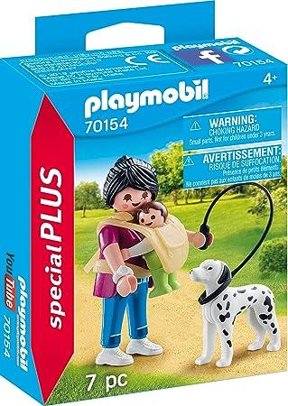 Playmobil 70154 Special Plus Mamá con bebé y Perro: Amazon.es: Juguetes y juegos