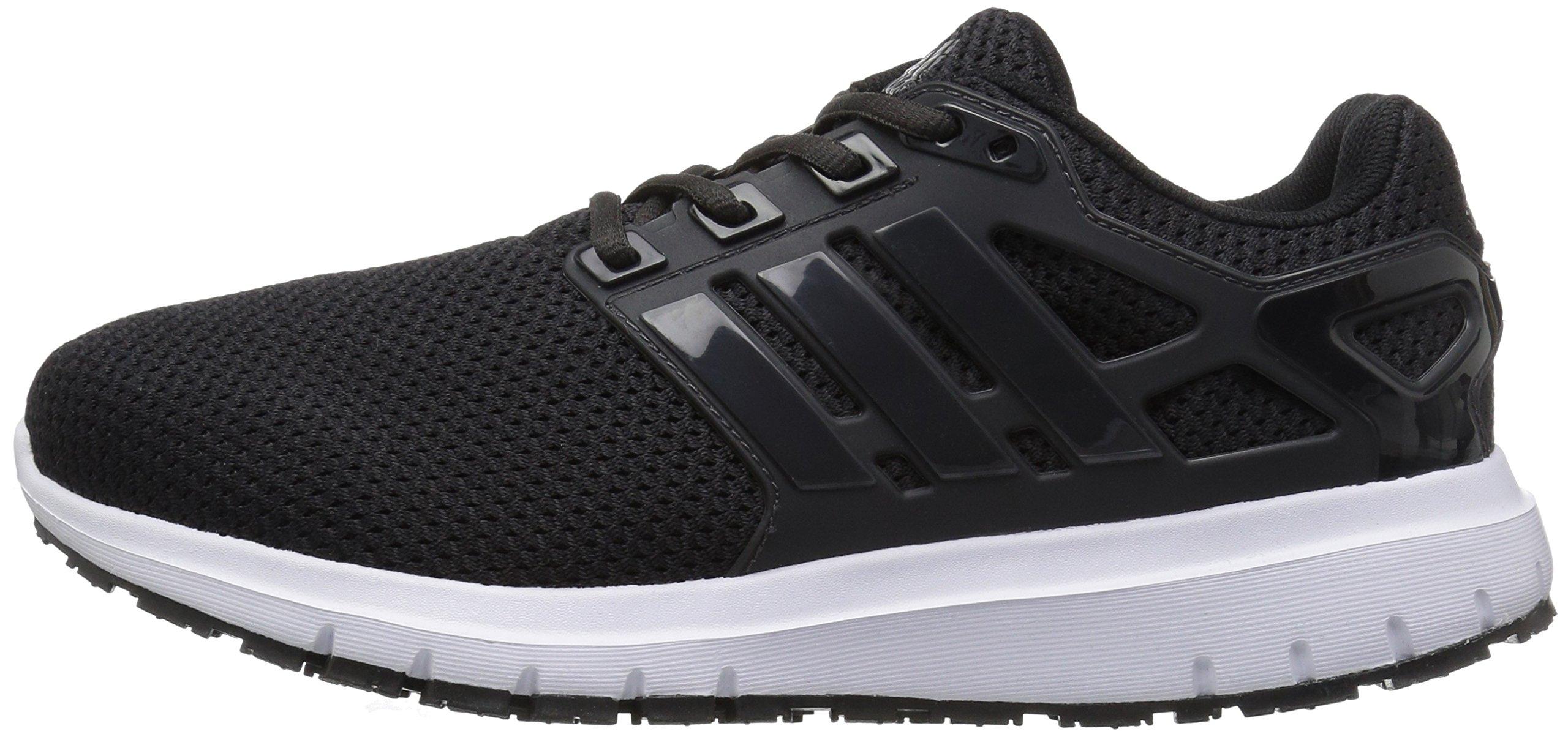 adidas  Men's Energy Cloud Wide m Running Shoe, BLACK/UTILITY BLACK/WHITE, 10.5 2E US by adidas (Image #5)