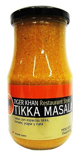 Tiger Khan Salsa Asiática India Tikka Masala - 425 gr