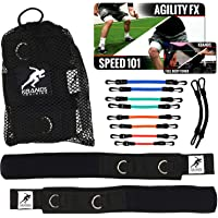 Kbands   Speed and Strength Leg Resistance Bands   Includes Speed 101 and Agility FX Digital Training Programs