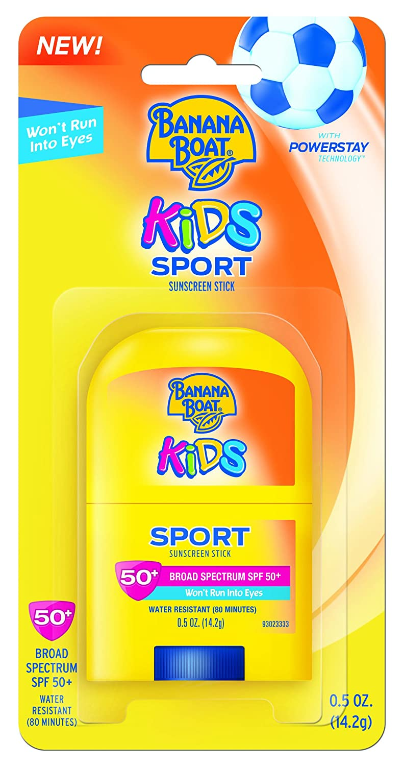 Banana Boat Kids Sport Broad Spectrum Sunscreen Stick with SPF 50, 0.05 Ounce Edgewell Personal Care 00079656124699