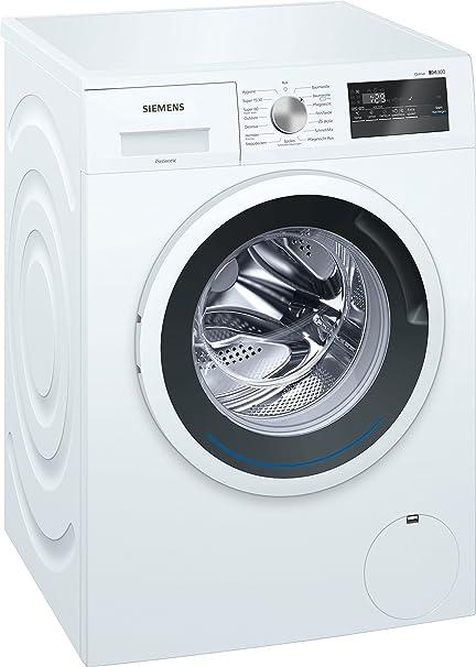 Siemens iQ300 WM14N121 Waschmaschine / 7,00 kg / A+++ / 157 kWh / 1.400 U/min / Schnellwaschprogramm / Nachlegefunktion / Hyg