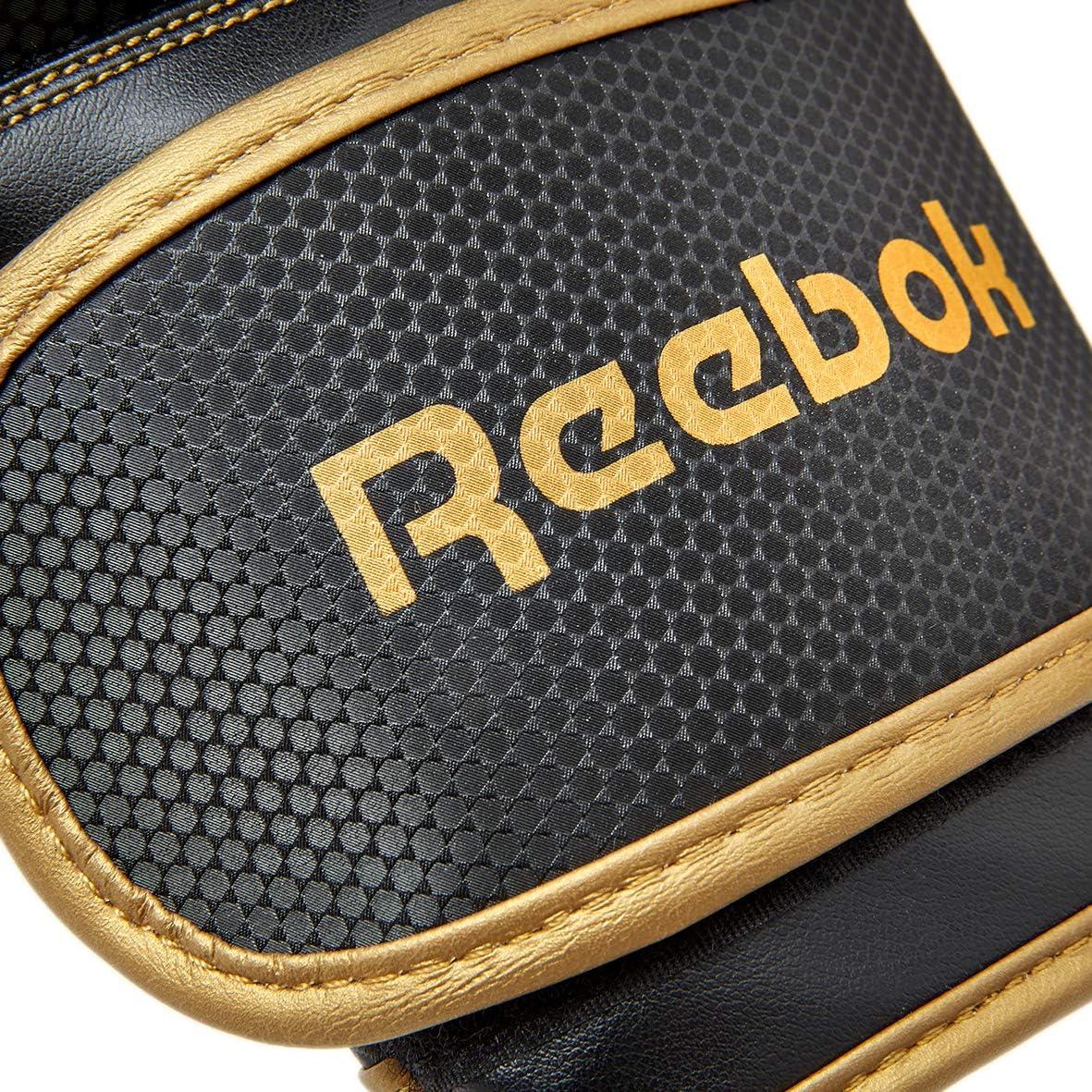 Gold//Black Reebok Boxing Gloves