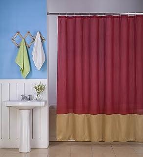 GorgeousHome H10 1 New Fabric Bathroom Bath Shower Curtain 2 Shade Mix Color 72