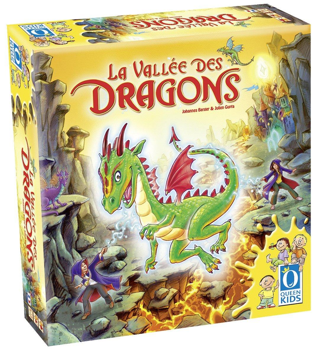 La vallée des dragons : 6 ans et +, 2 à 4 joueurs