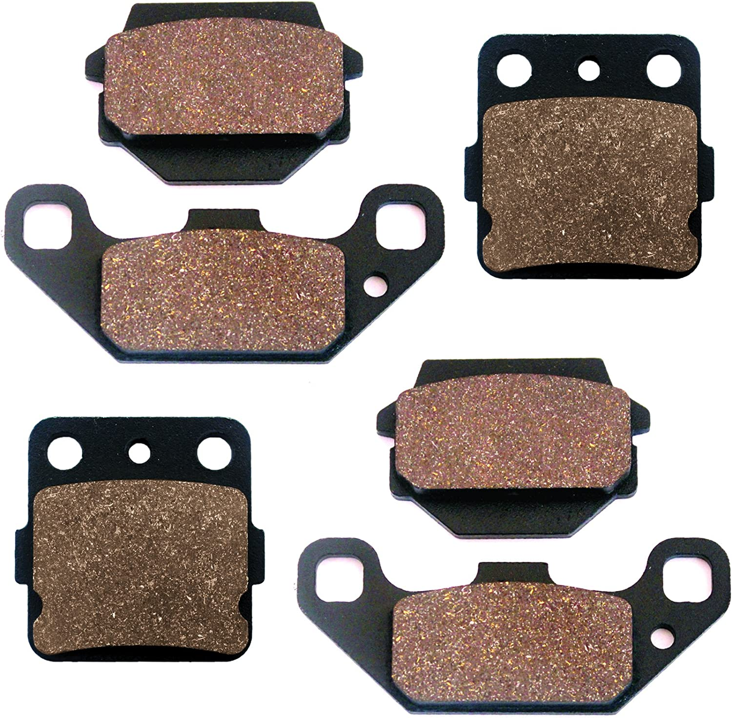 Front Brake Pads For Suzuki LT230S Quadsport 230 1985 1986 1987 1988