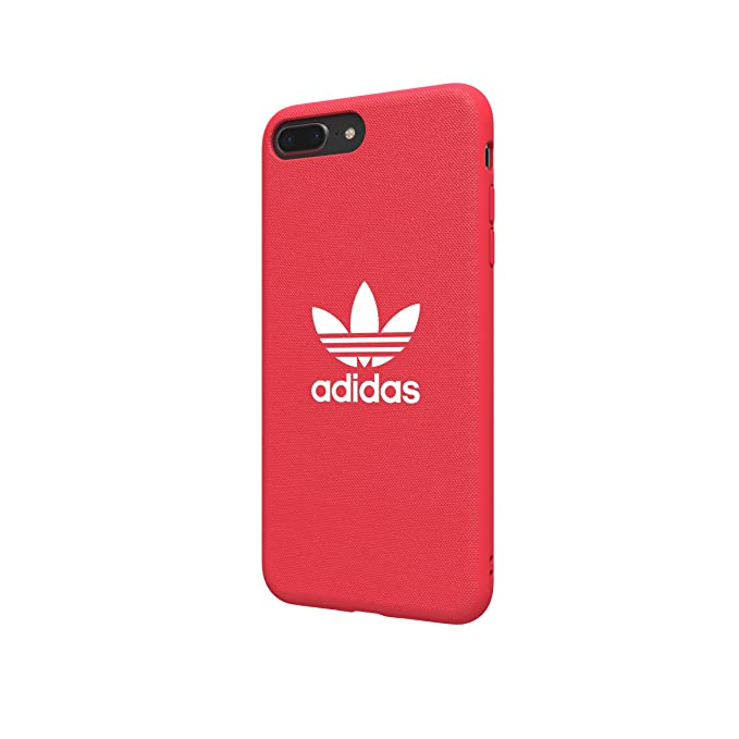 Adidas Originals Adicolor Moulded Case/Cover for Apple iPhone 8 Plus/7 Plus/6S Plus/6 Plus (Radiant Red)