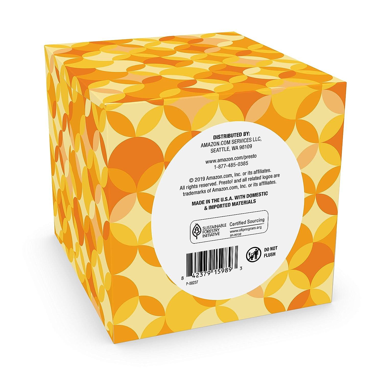 Ultra-Soft 3-Ply Facial Tissue 66CT 4 Pack Brand Presto