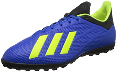 huge discount 85247 ea690 adidas X Tango 18.4 TF Chaussures de Football Homme, Bleu (Fooblu Amasol