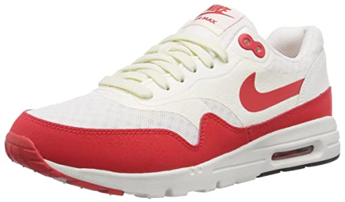 separation shoes b0aef 4411b Nike Air Max 1 Ultra Essentials, Women s Trainers, Red (sail challenge Red