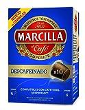 Marcilla Descafeinado Café Molido en Capsulas - 10 Unidades
