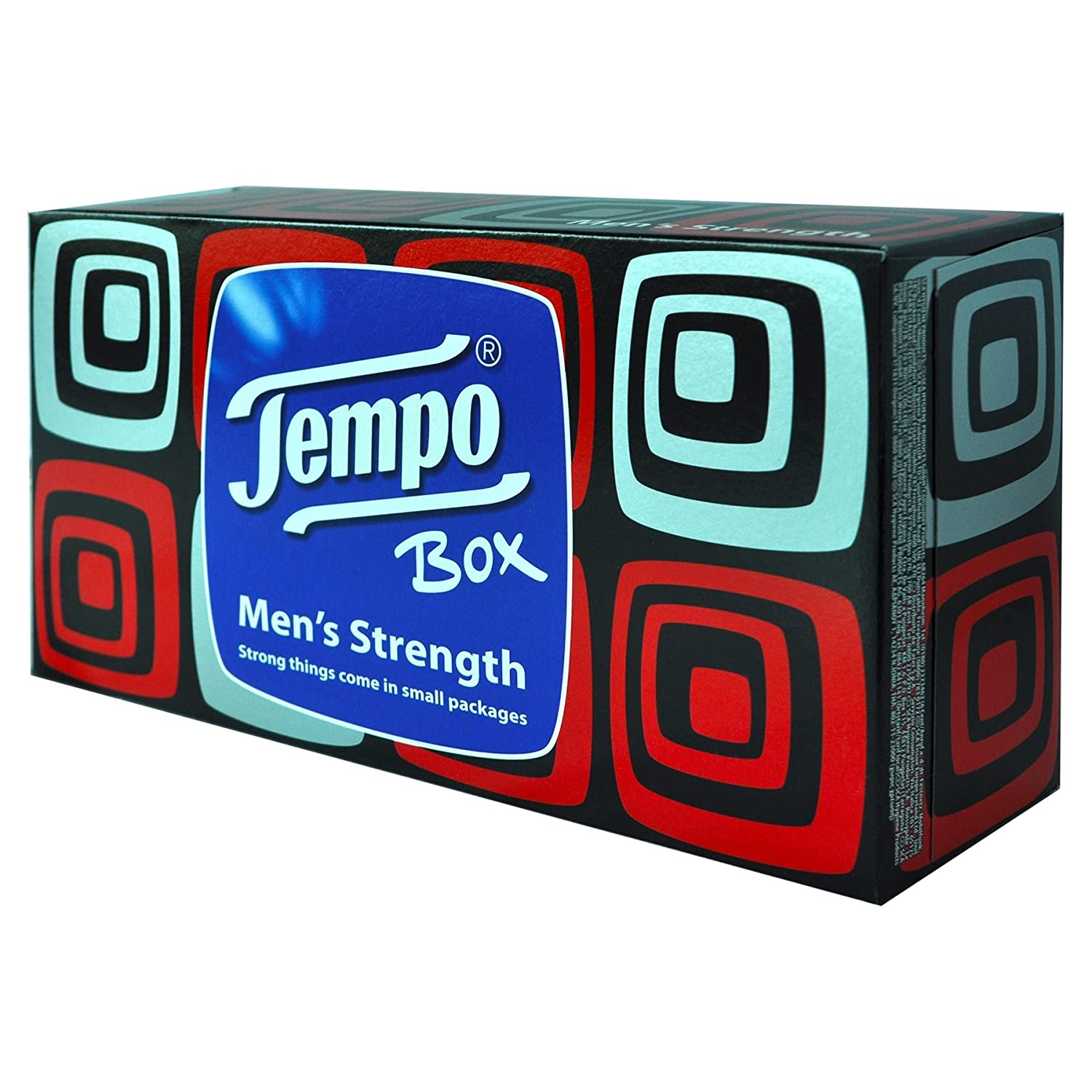 12 Pack x 1 Tempo Mens Strength Tissues