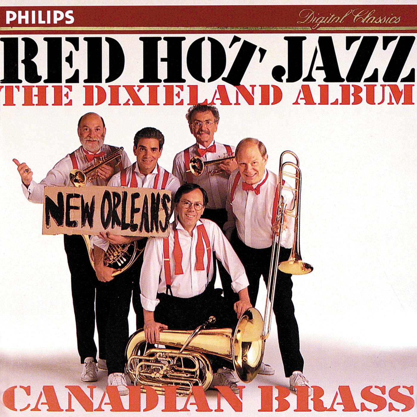 Red Super sale period limited Large special price !! Hot Jazz Album Dixieland