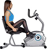 Body Xtreme Fitness Recumbent Bike BXF003 - Home Exercise Equipment, Magnetic Tension Recumbent Bike with Workout Goal Setting Computer! + BONUS COOLING TOWEL