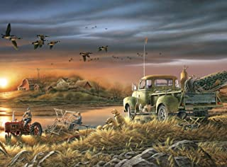 product image for Buffalo Games - Terry Redlin - Patiently Waiting - 1000 Piece Jigsaw Puzzle