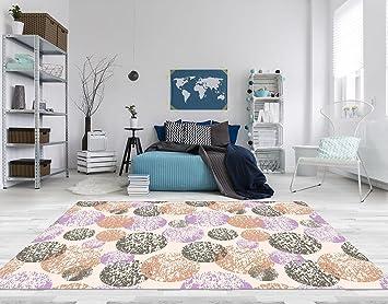 Fußboden Teppich ~ Pvc vinyl fussboden fußboden boden teppich matte forwall kreise