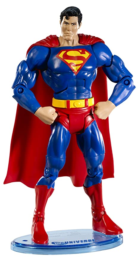 62f6b45204d3 Image Unavailable. Image not available for. Color  DC Universe Classic  Superman Figure with Collector Button
