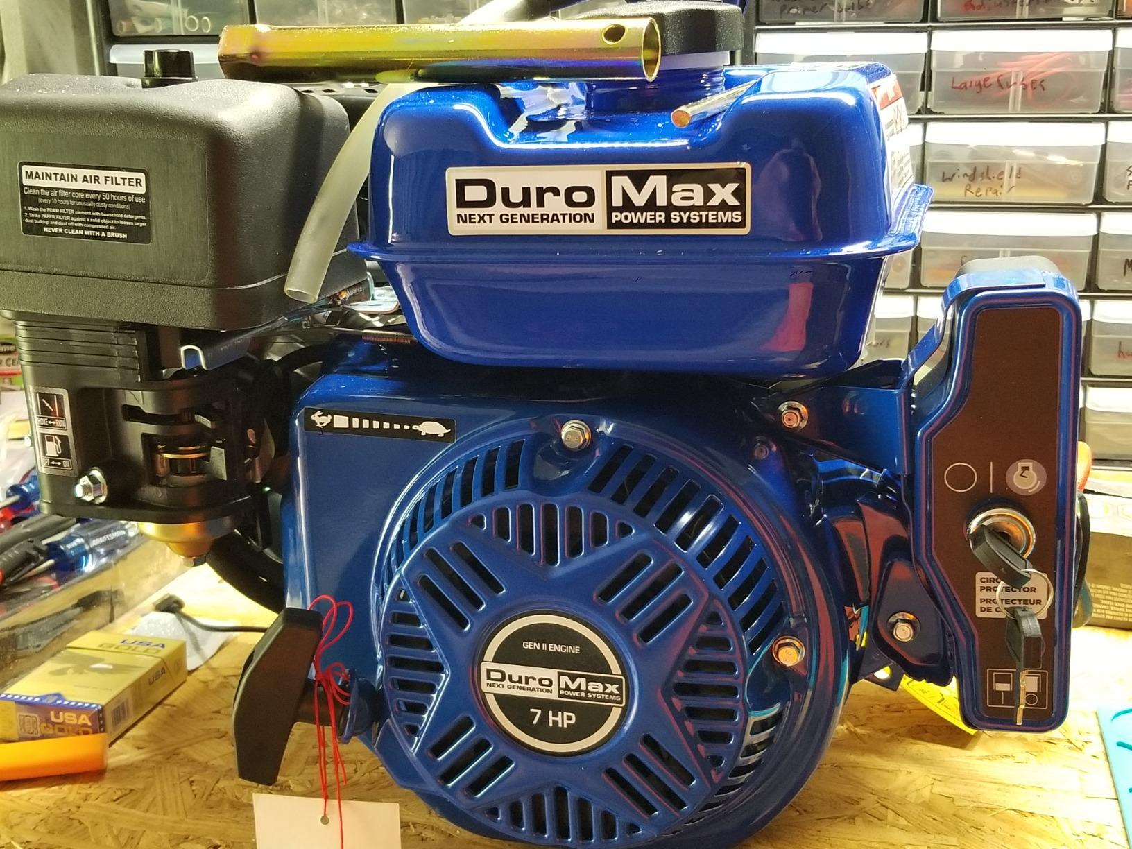 DuroMax XP7HPE 7 Hp , 3/4'' Shaft, Recoil/Electric Start Engine