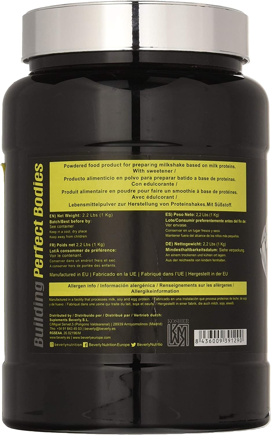 Beverly Nutrition Fusion Ovopro - Choco, Chrome Series - 1000 ...