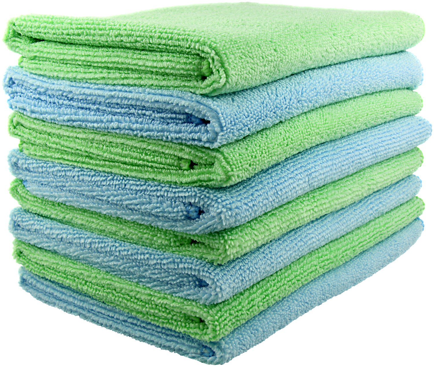 Amazon.com: SecurOMax Thick Microfiber Cloth Towels (8 Pack) for ...