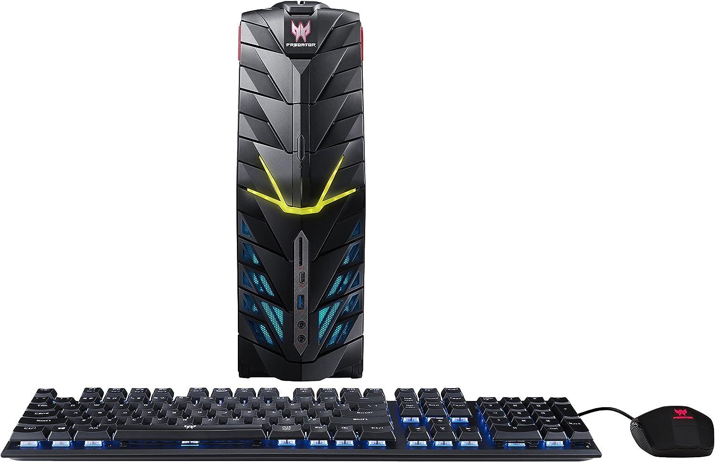 Acer Predator Desktop, 7th Gen Intel Core i7-7700, GeForce GTX 1080, 32GB DDR4, 512GB SSD, 2TB HDD, Win 10, G1-710-70013