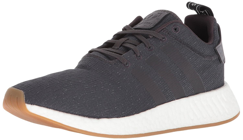 adidas Originals Men's NMD_r2 Sneaker B0786ZSXDL 11 D(M) US|Utility Black/Utility Black/Black