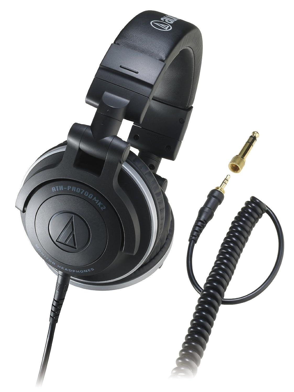 audio-technica 密閉型DJモニターヘッドホン ブラック ATH-PRO700MK2   B0046JS1IE