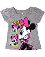 Minnie Mouse Girls Short Sleeve Tee (Baby/Toddler)