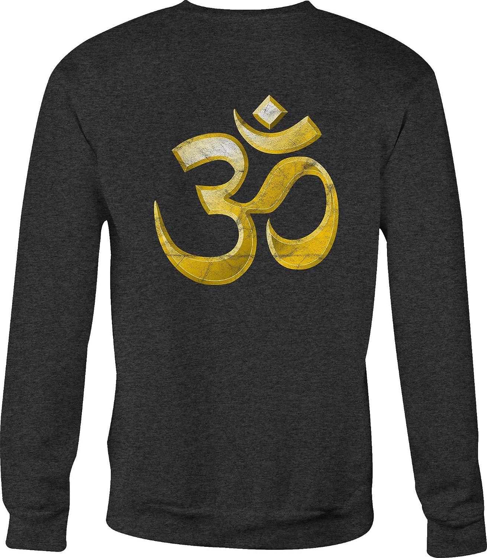 Hoody Motorcycle Crewneck Sweatshirt Om Namaste Yoga Relaxing Symbol