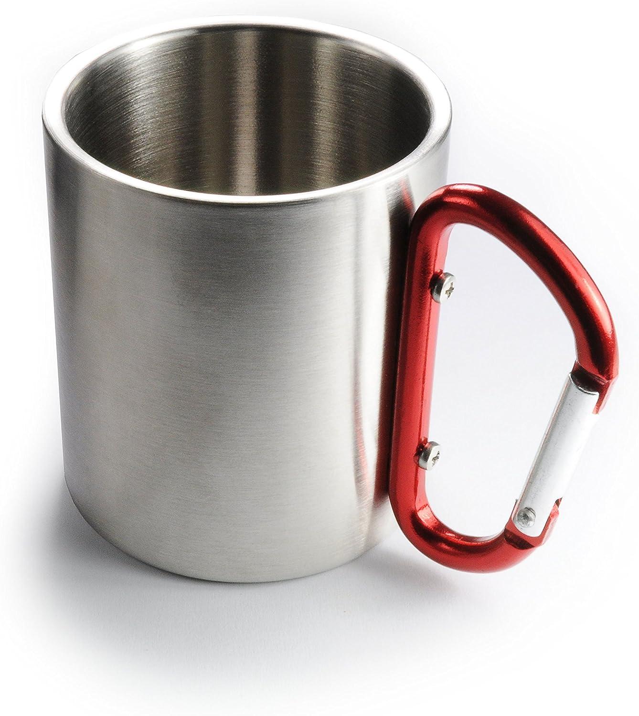 1 satz 300ml Isolierbecher Kaffeebecher Edelstahl Trinkbecher Doppelwand Becher