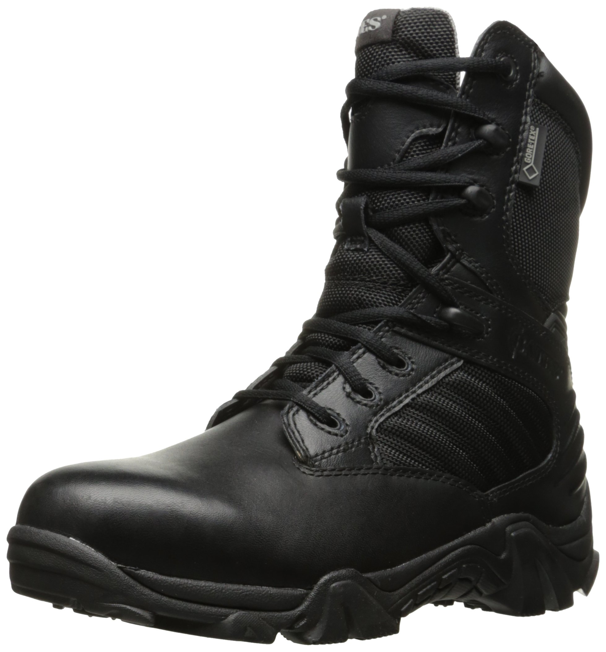 Bates Women's GX-8 Gore-Tex Insulated Side Zip Fire and Safety Shoe, Black, 9 M US by Bates (Image #1)