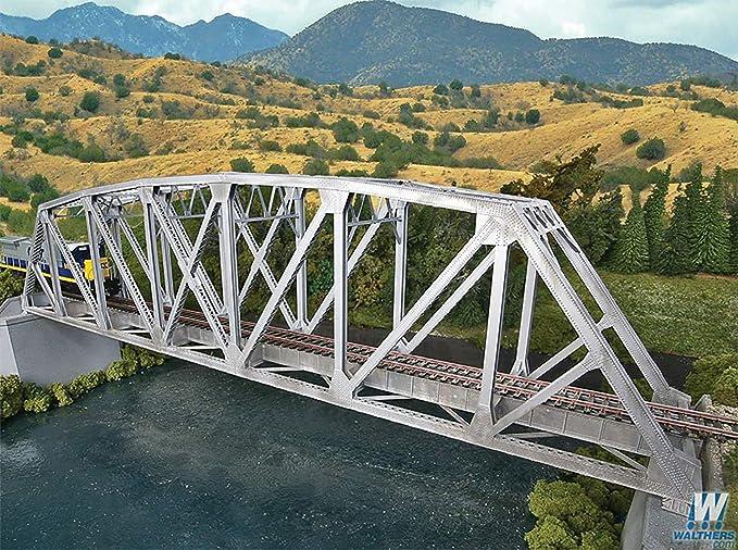 Walthers SceneMaster Arched Pratt Truss Railroad Bridge Kit Collectable  Train
