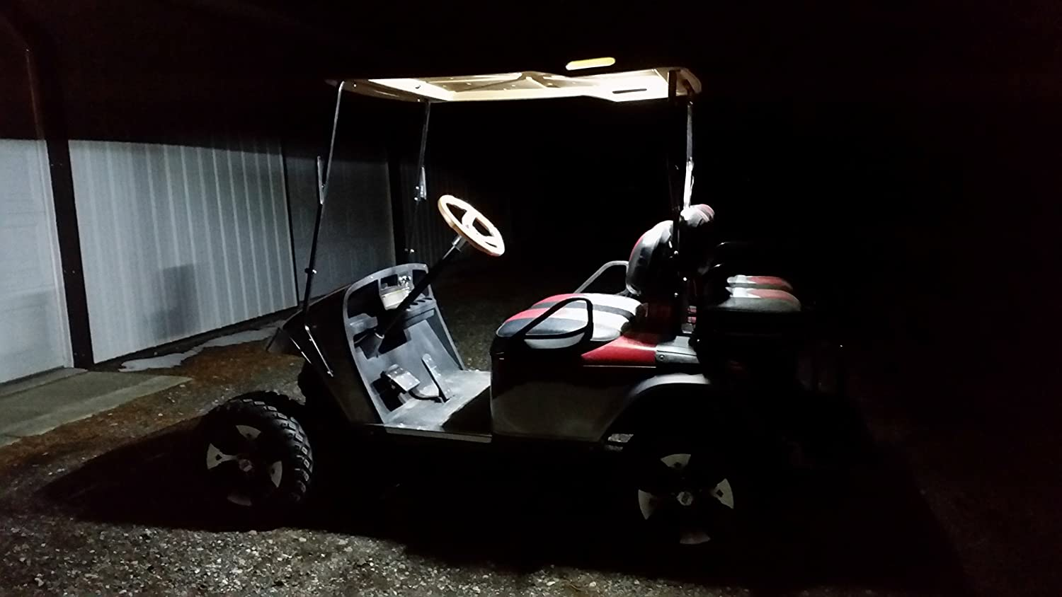 Thunderbuckets New Golf Cart Led Universal Dome Light Kit Courtesy Lights Ez Go Club Car Yamaha