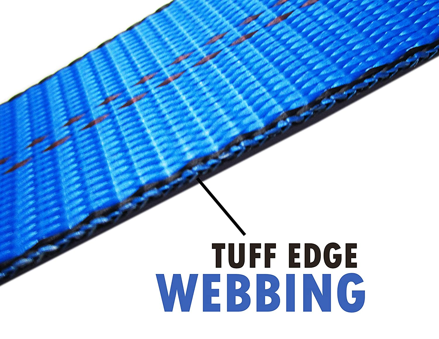 14-20 Inches, Blue Domestic RuggedTow 2X USA Car Basket Straps Adjustable Tow Dolly DEMCO Wheel Net Set Flat Hook Standard Wheels Fits