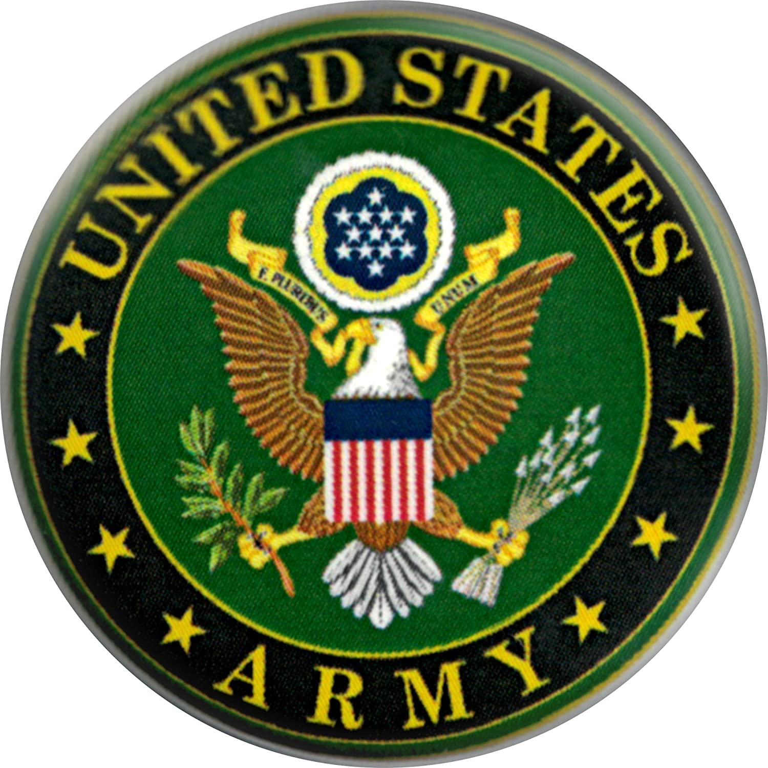 1.25 Round Button Seal of the United States Army