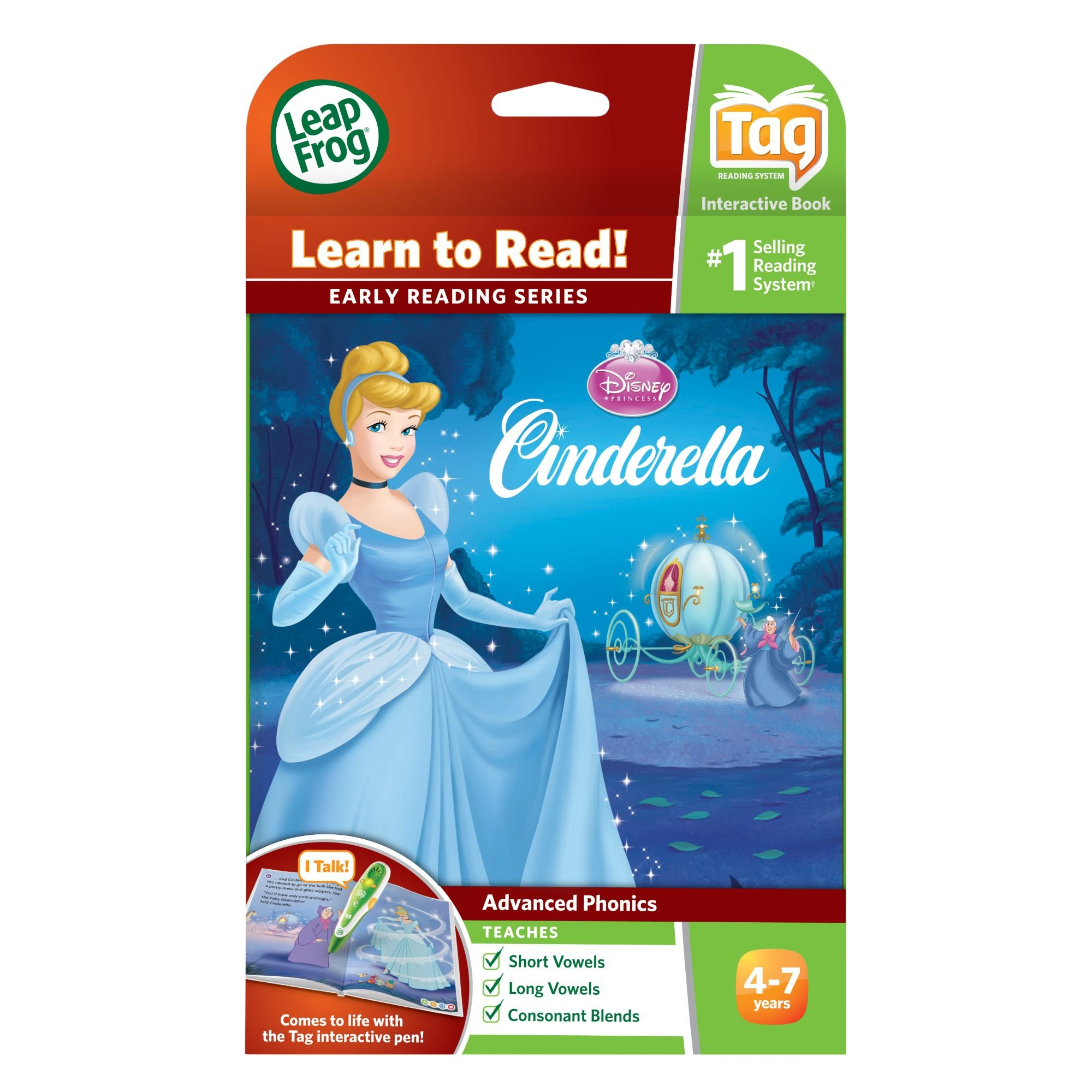 LeapFrog LeapReader Book: Disney Cinderella: The Heart That Believes (works with Tag) by LeapFrog (Image #3)