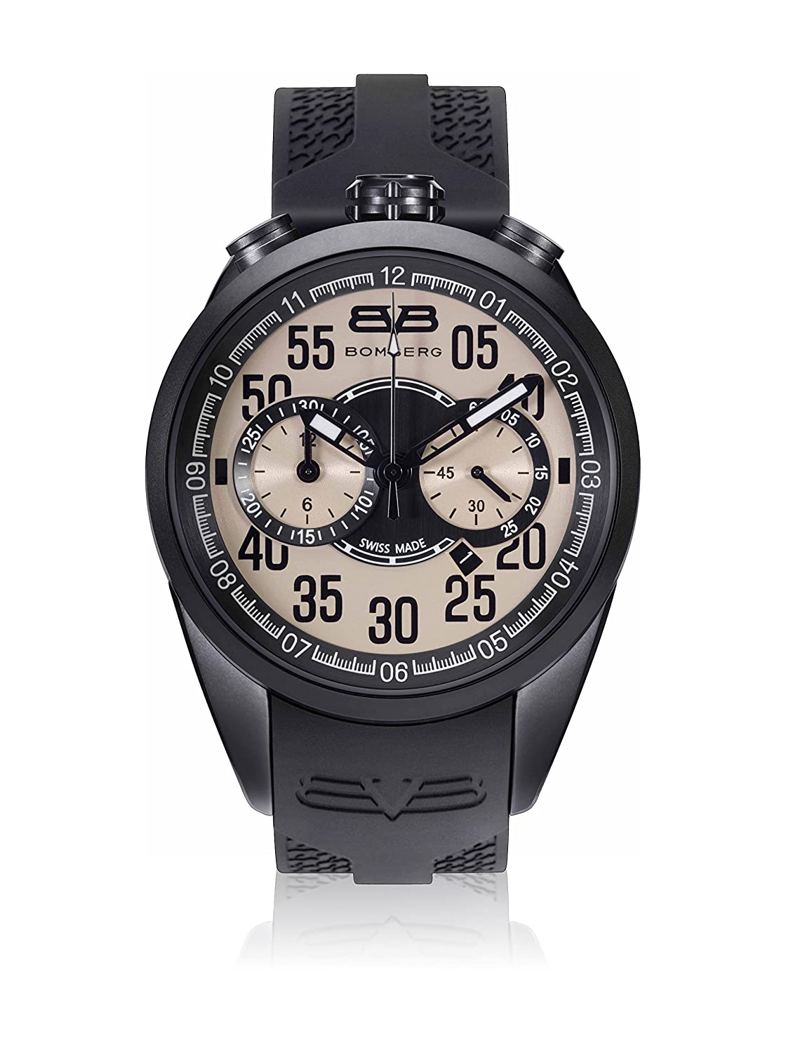 Bomberg NS44CHPBA.0087.2 1968 collection Uhren - Swiss Made - 44 mm