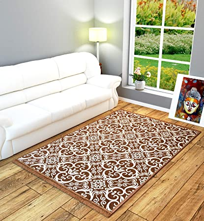 Decorista Chenille Carpets (Brown, Standard)