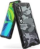 Ringke Fusion X Design Case Compatible with Xiaomi Mi Note 10, Note 10 Pro, Xiaomi Mi CC9 Pro (2019) - Camo Black